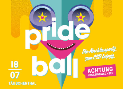 Prideball 2015 – neue Location: Täubchenthal!