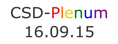 CSD-Plenum