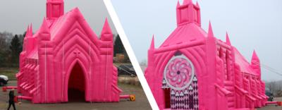Statement zur Aktion rosa Kirche