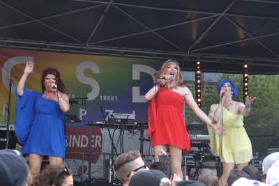 #Straßenfest: live on stage