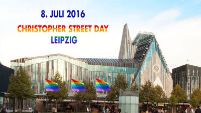 Universität Leipzig hisst Regenbogenflaggen