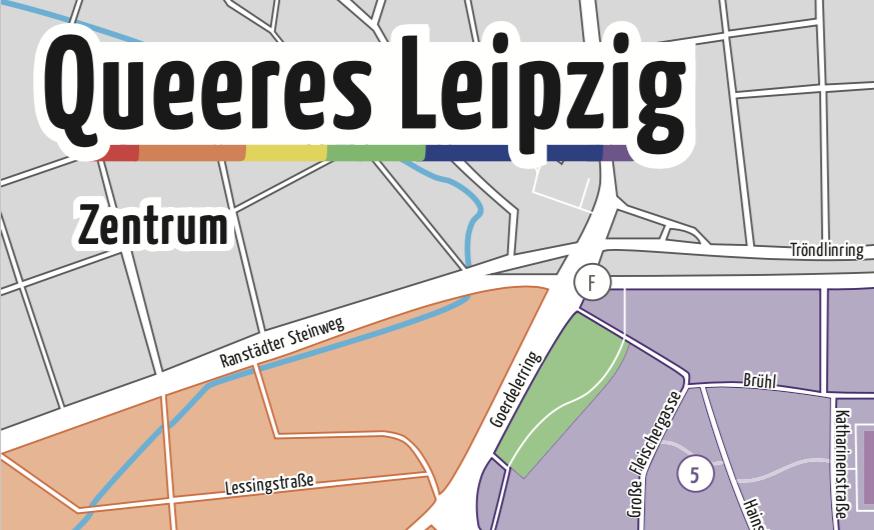 Queerer Stadtplan für Leipzig