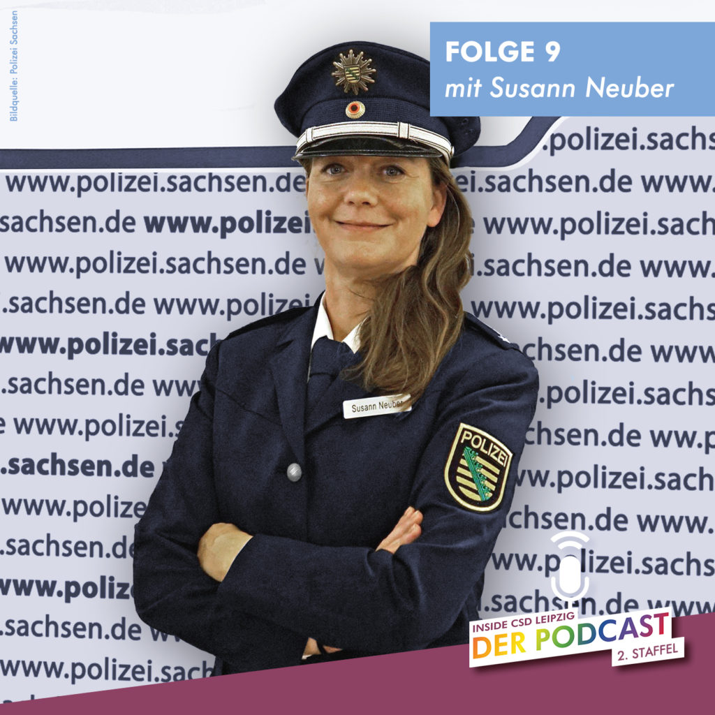 """Folge 9 """"LSBTTIQ* und die Polizei"""" (Gast: Susann Neuber)"""