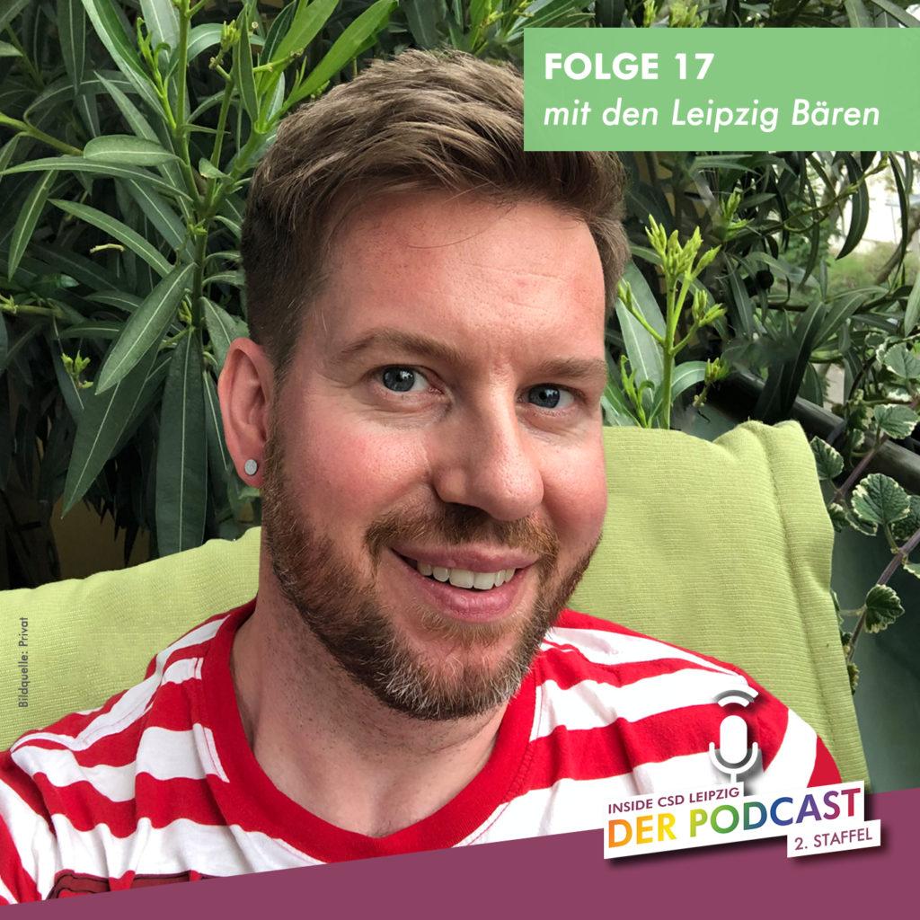 """Folge 17 """"Wir sind gegen Bodyshaming"""" (Christian, Leipzig Bären)"""